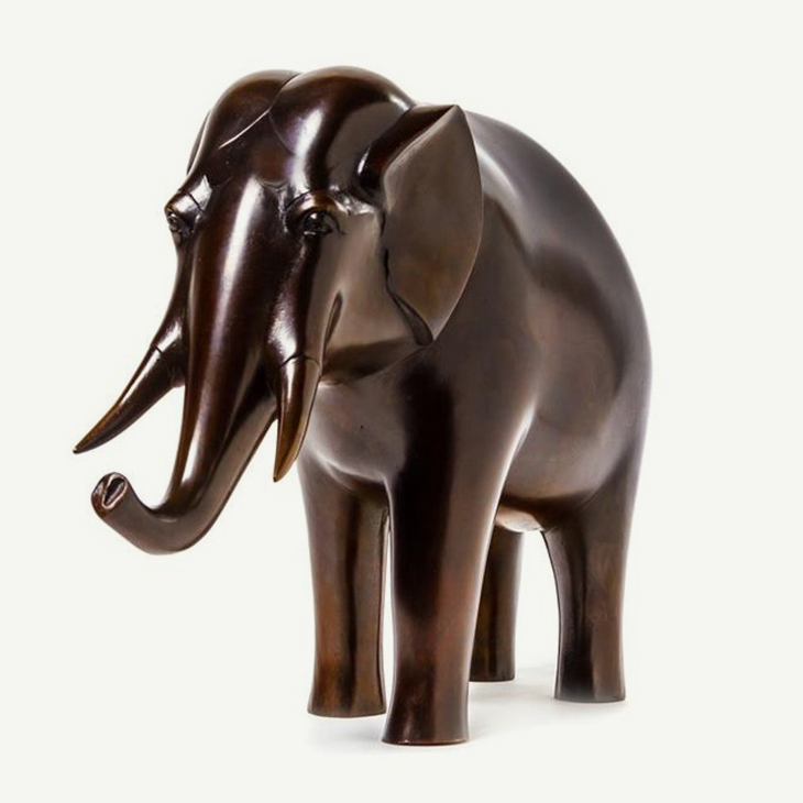 ON THE GALLERY FLOOR | Bronze Elephant, By Francois-Xavier Lalanne