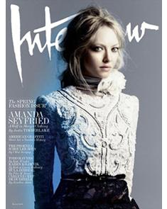 Interview Magazine   March 2011 Issue