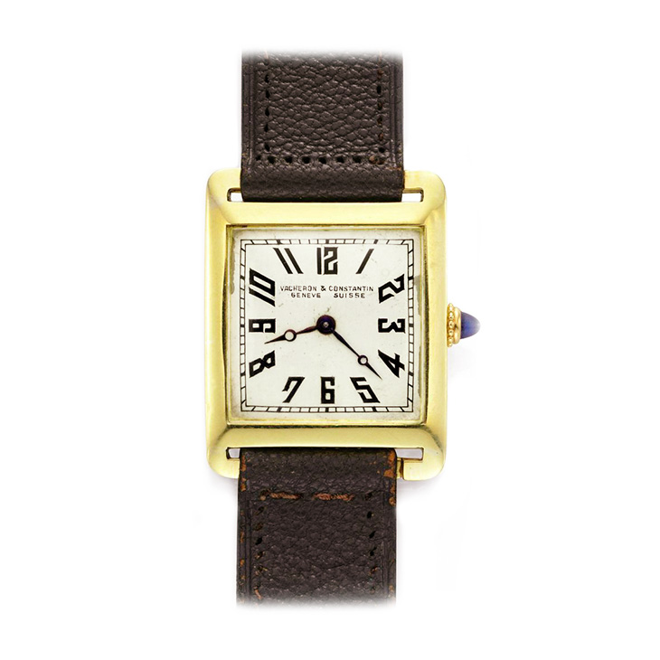 Vacheron & Constantin: An 18k Gold Wristwatch, circa 1920