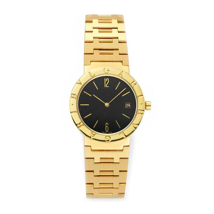 An 18k Gold Bulgari Watch, 33mm, circa 1990