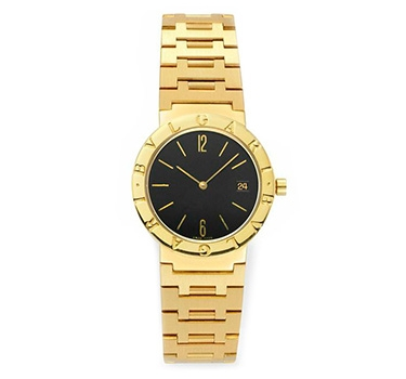 An 18k Gold Bulgari Watch, 33mm, Circa 1990
