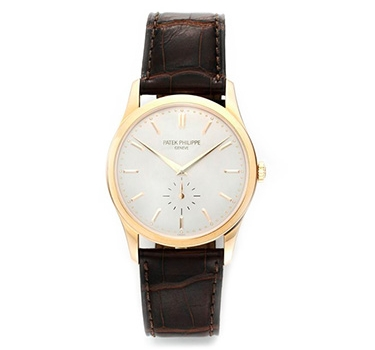 A Rose Gold Calatrava No. 5196R, By Patek Philippe