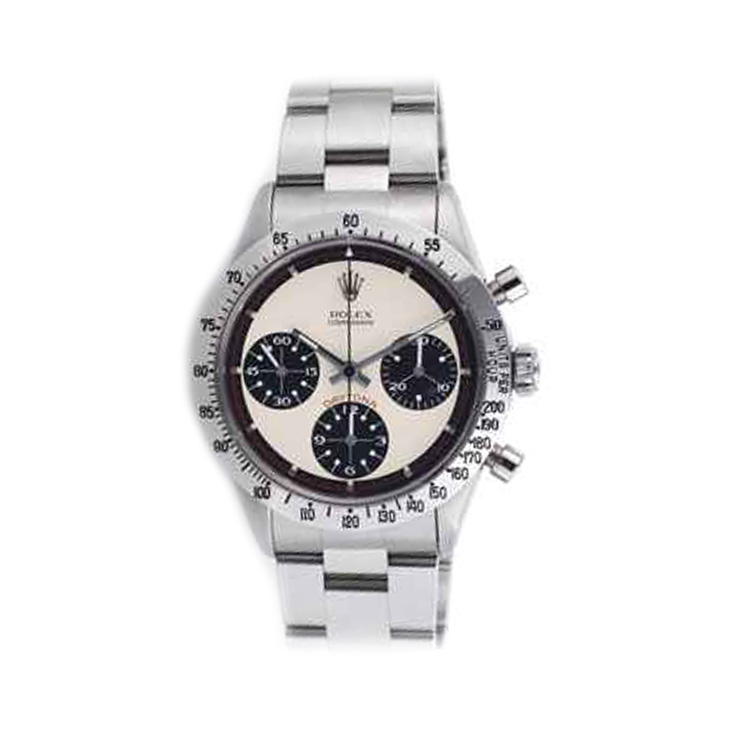 A Paul Newman Daytona Chronograph Wristwatch, by Rolex, circa 1960