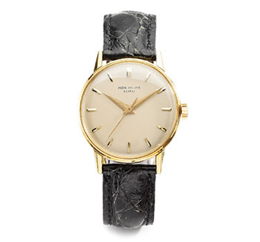 Patek Philippe: A Gold Wristwatch Ref. 3411, Circa 1959