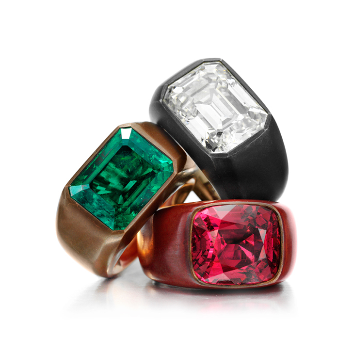 A Group of Multi-Gem Rings, by Hemmerle