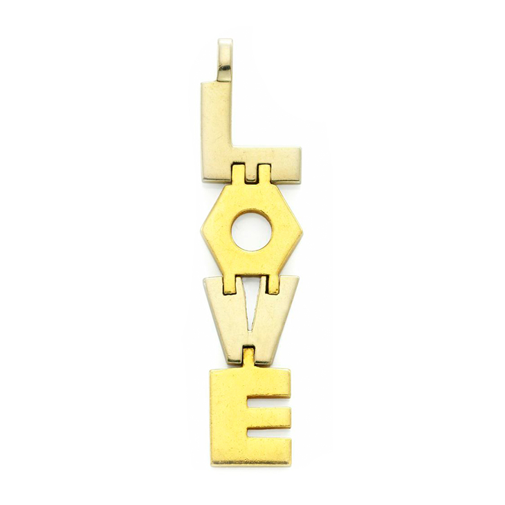 A Gold 'LOVE' Pendant, by Cartier, Aldo Cipullo, circa 1971