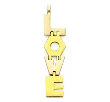 A Gold 'LOVE' Pendant, By Cartier, Aldo Cipullo, Circa 1971