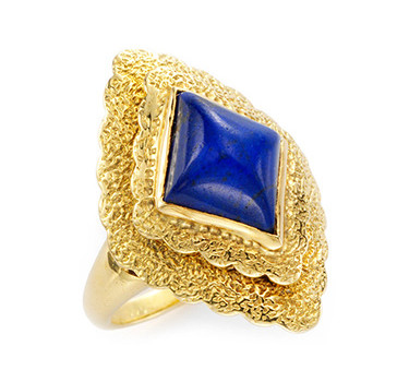 A Lapis Lazuli And Gold Ring, By Van Cleef & Arpels, Circa 1970