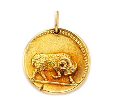 A Gold Taurus Zodiac Pendant, By Van Cleef & Arpels, Circa 1970