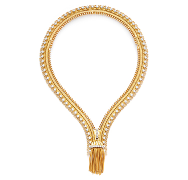 A Diamond and Gold ZIP Necklace, by Van Cleef & Arpels