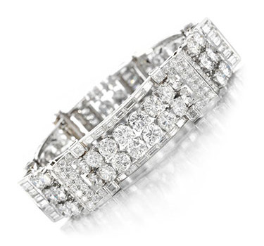 A Diamond Bracelet, By Van Cleef & Arpels, Circa 1954