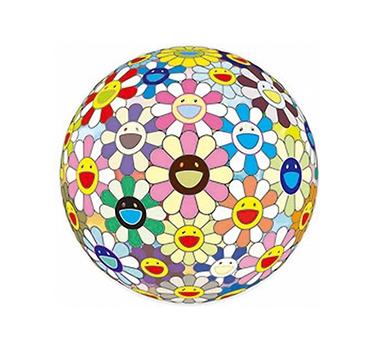 Flowerball Cosmos 3D, Takashi Murakami, Limited Edition