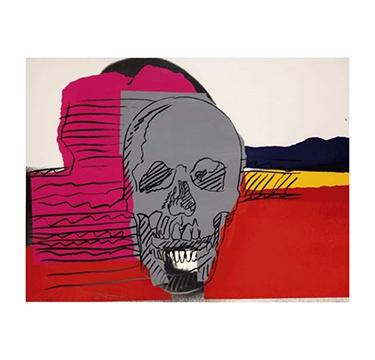 "Andy Warhol, ""Skulls"", 1976"