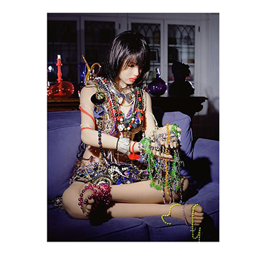 "Laurie Simmons, ""Day 22 (20 Pounds of Jewelry)"" 2010"
