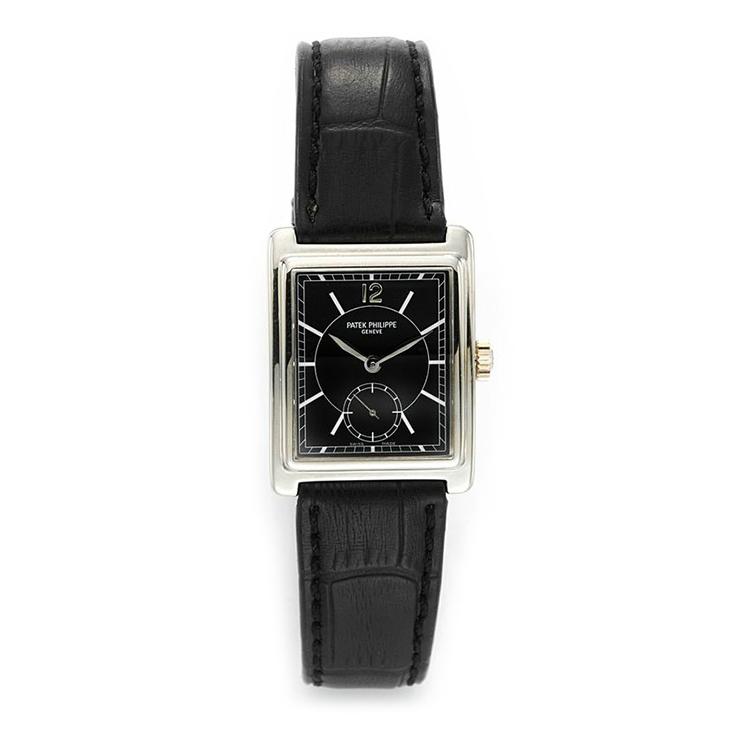 Patek Philippe: An 18k White Gold Gondolo Ref. 5010G Wristwatch