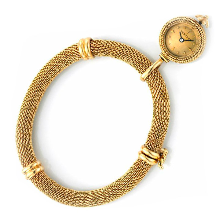 A Gold Watch Charm Bracelet, by Verdura, circa 1950
