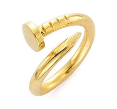A Gold Nail Ring, By Aldo Cipulo, Circa 1970