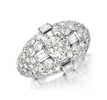 A Diamond 'Trombino' Ring By Bulgari, Circa 1935