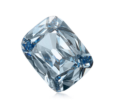 A Fancy Intense Blue Diamond Of 1.15 Carats