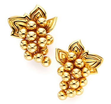 A Pair Of Gold Ear Clips, By Boucheron, Circa 1960