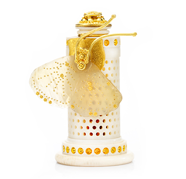 An Ivory and Gold Pomander Object, by Daniel Brush