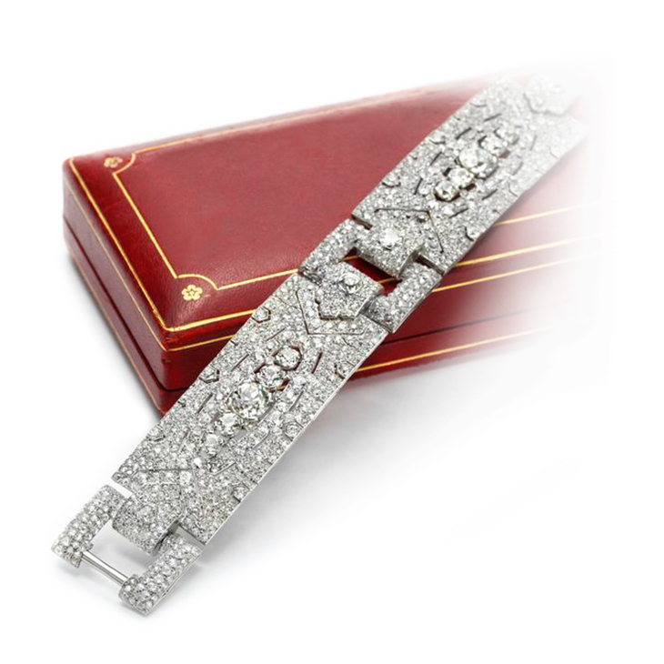 art online christie jewels and christies bracelet sapphire deco diamond s eco