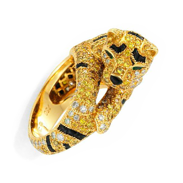 head tiger rings teeth mens ring listing il gold lion roaring