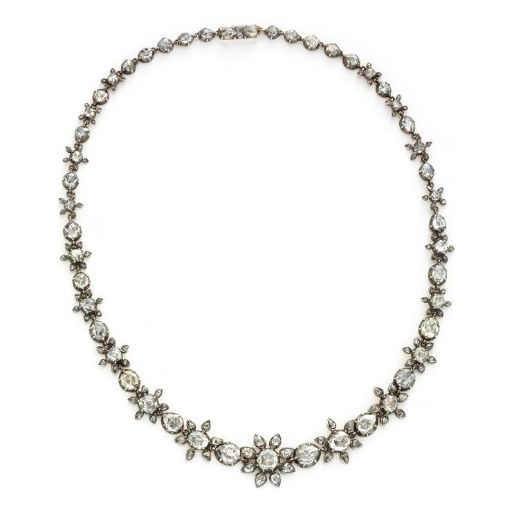An Antique Diamond Necklace