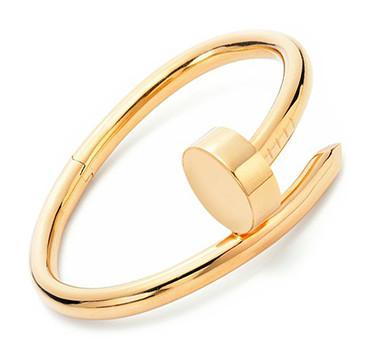 A Rose Gold Nail Bracelet, By Aldo Cipullo, Circa 1970