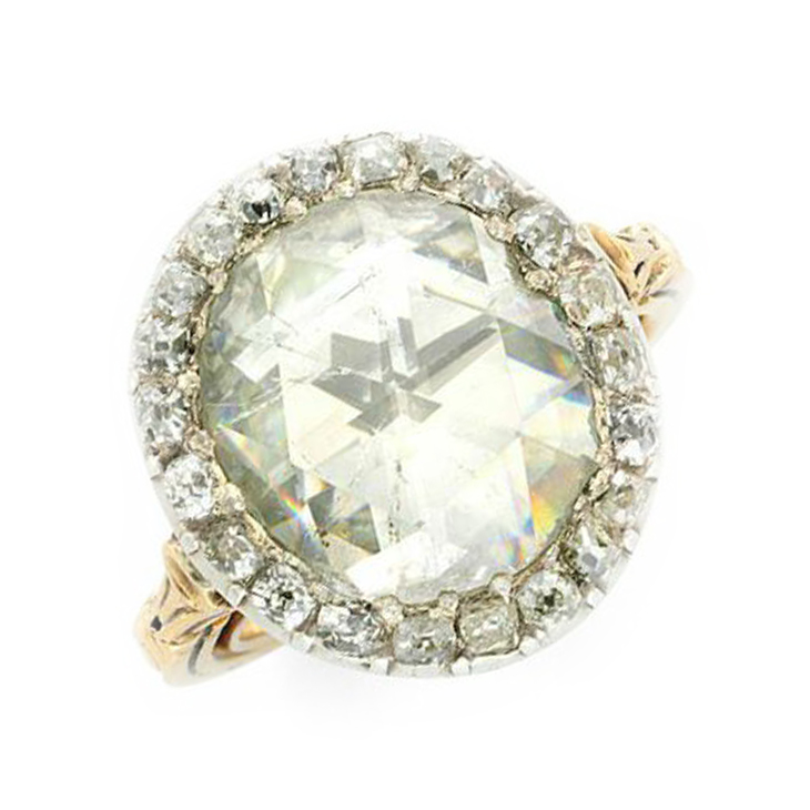 A Georgian Diamond Ring