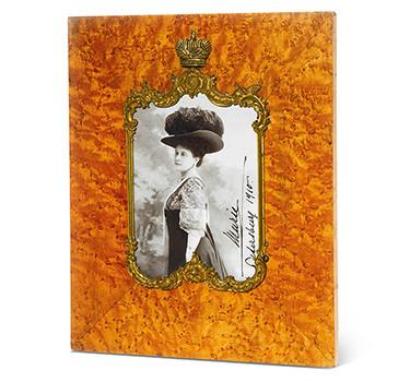 A Birch Framed Photograph Of Maria Pavlovna, Grand Duchess Vladimir, Circa 1910