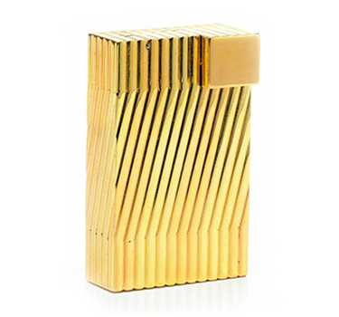 A Bi-colored Gold Lighter, By Cartier, Circa 1950