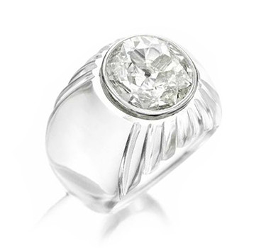 A Diamond And Rock Crystal Ring, By Suzanne Belperron, Circa 1938