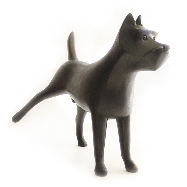 A Dog, by Francois-Xavier Lalanne
