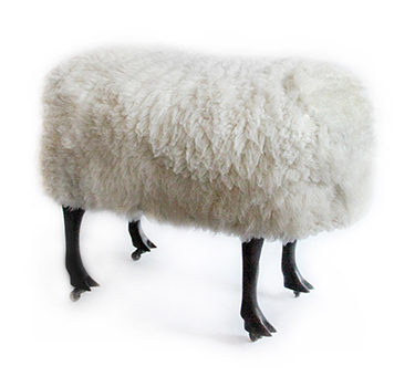 A Sheep Stool, By Claude Lalanne