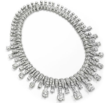 An Art Deco Diamond Necklace, By Bulgari, Circa 1935