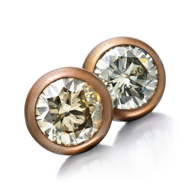 earrings colored masters pair of a off studs jewelry diamond stud
