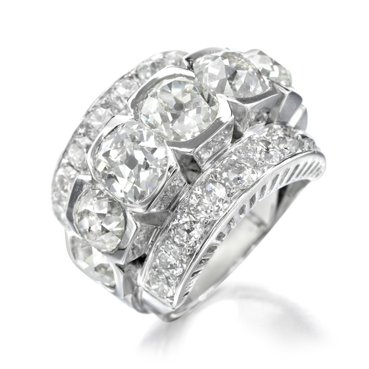 A Diamond Ring, by Raymond Templier, circa 1925
