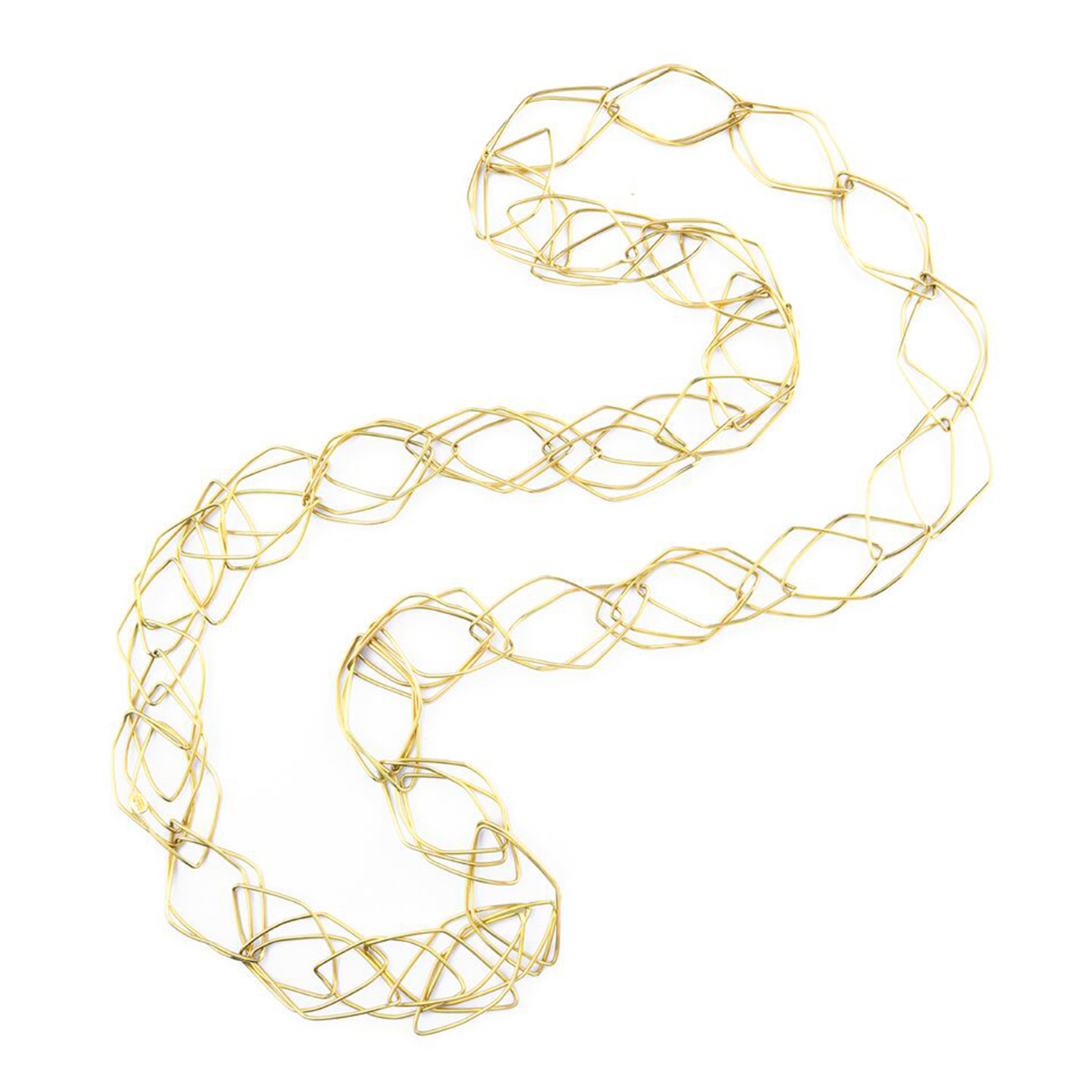 A Gold Necklace, by Hermes, circa 1970