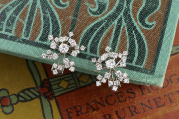Cartier Diamond Ear Clips