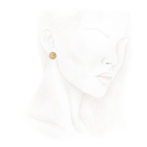 Boucheron Diamond set Lion Ear Clips