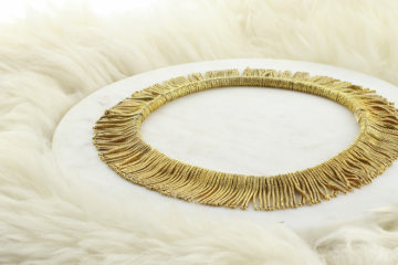 Bulgari Gold Fringe Necklace