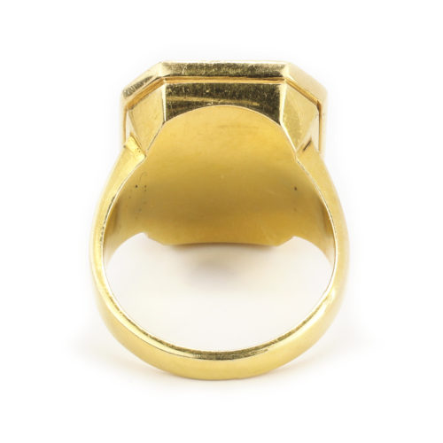Victorian Gold Signet Ring