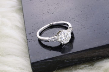 Bulgari Diamond Solitaire Ring