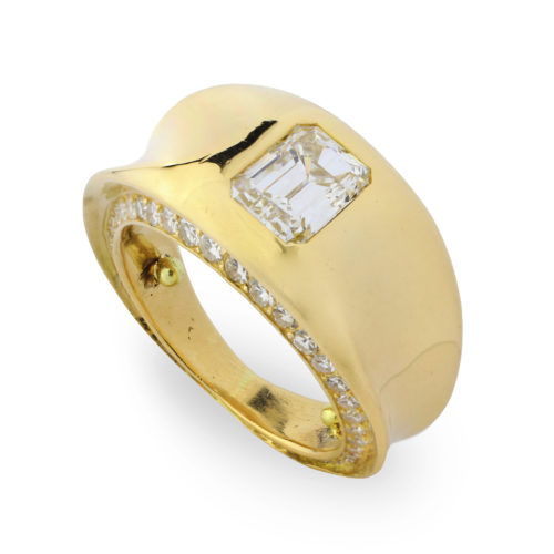 JAR Gold and Diamond Ring