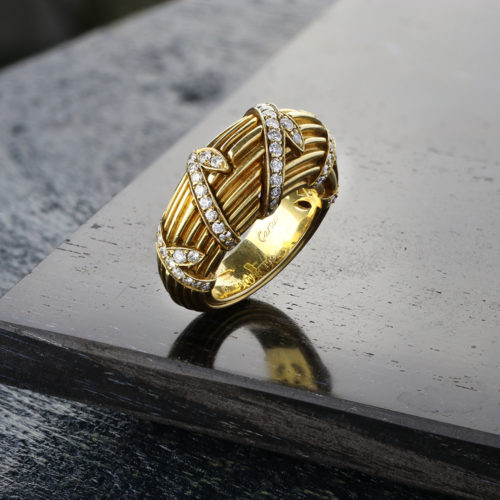 Cartier Gold and Diamond Ring