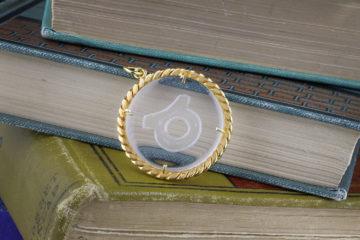 Cartier Aldo Cipullo Taurus Zodiac Pendant
