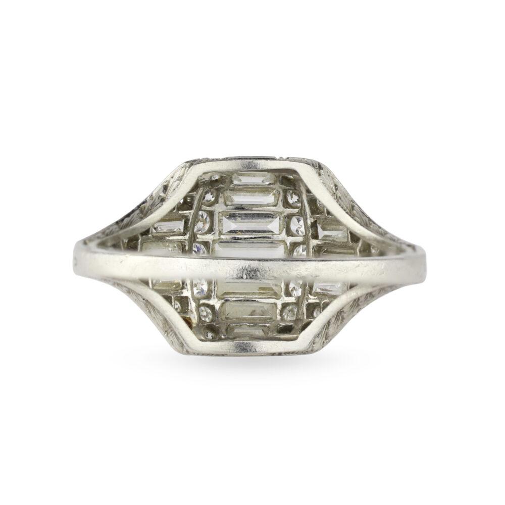 Tiffany & Co. Art Deco Diamond Ring