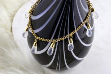 Moonstone Charm Bracelet
