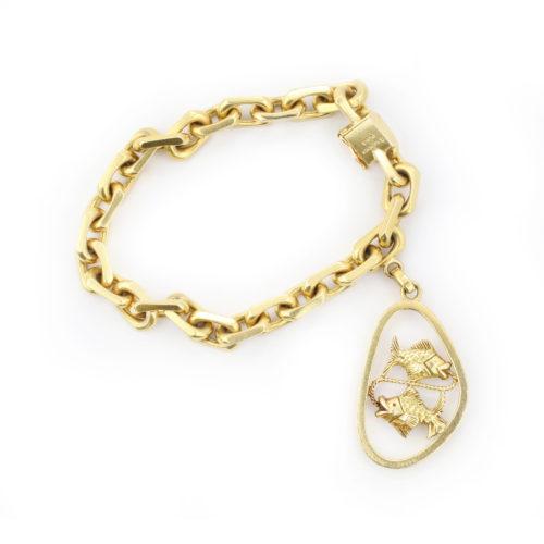 Boucheron Gold Charm Bracelet